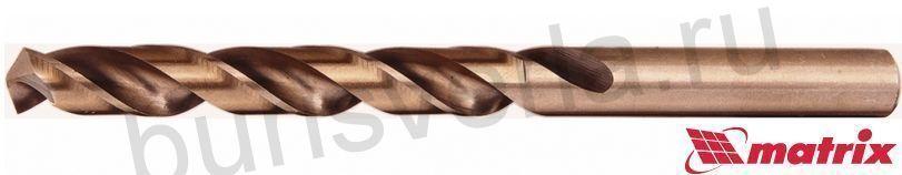 Сверло по металлу 8 мм Matrix, HSS-Co-5%