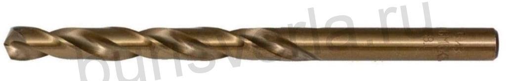 Сверло по металлу 2,5 мм, Р6М5К5